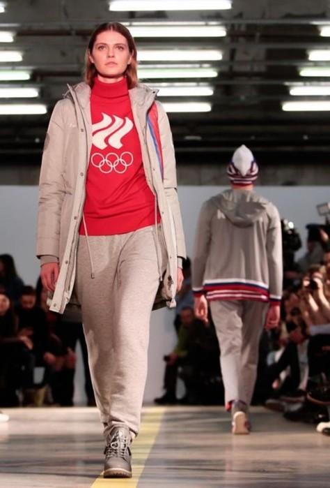 В Москве прошел показ коллекции новой олимпийской формы