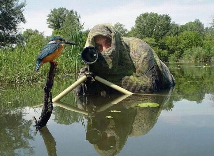 Да, у фотографов тяжелая работа. Но бывают и приятные моменты!