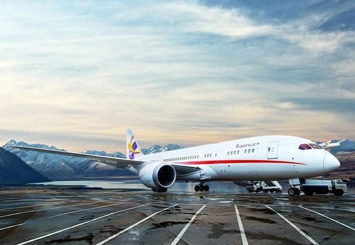 Роскошный интерьер Boeing 787 8 Dreamliner