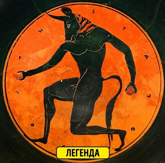 Известные легенды древности, у которых есть вполне рациональное объяснение