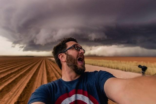 Фотограф из Феникса охотится за ураганами: бури и торнадо в объективе