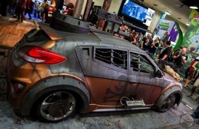 Идеальный автомобиль, чтобы пережить зомби апокалипсис
