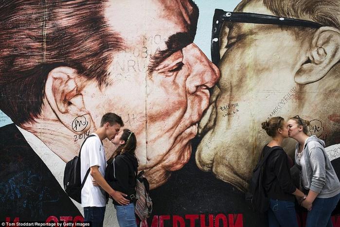 Когда русские начали целоваться в губы
