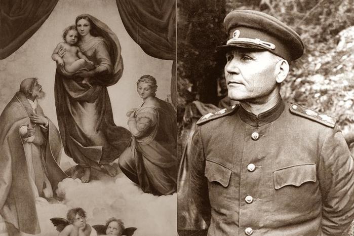 Как маршал Конев спас картину «Сикстинская Мадонна»