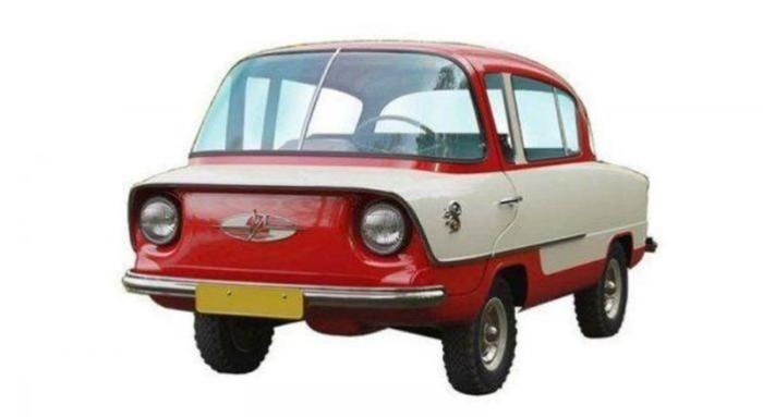 Автомобиль «Белка»— первая модель «Запорожца»