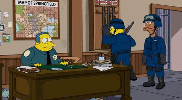 Как «Симпсоны» помогли полиции задержать 21 преступника