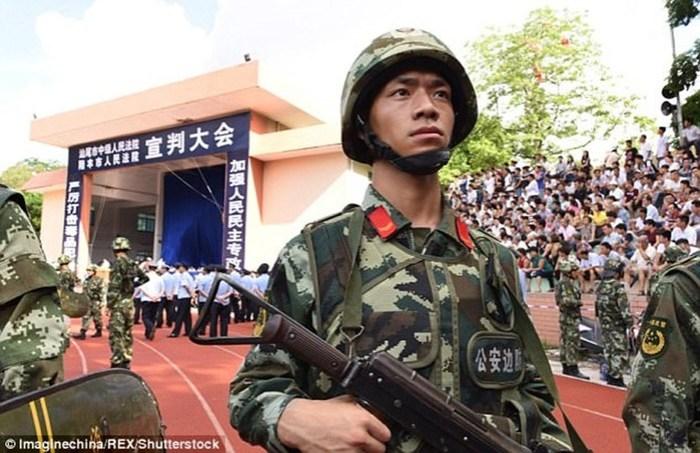 Как в Китае решили казнить 13 наркоторговцев