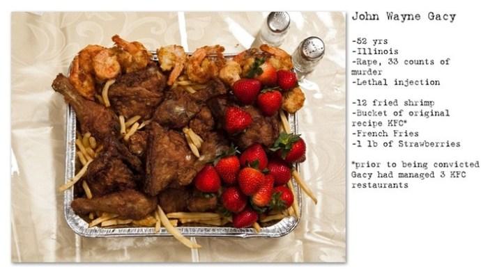 Ужин ценою в жизнь: последние блюда приговоренных смертников