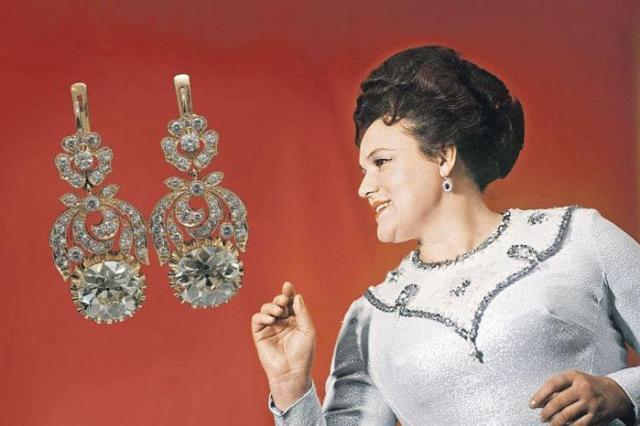 Куда пропали бриллианты Людмилы Зыкиной