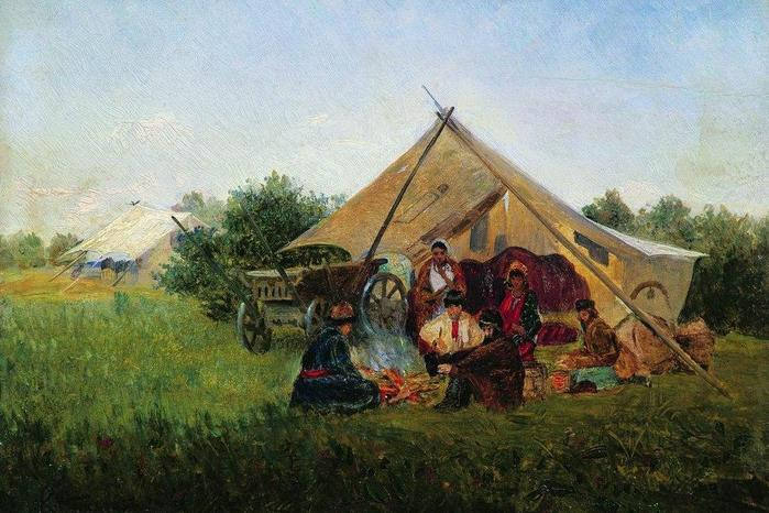 Как в СССР создавали цыганские колхозы