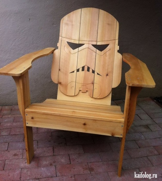 Необычные кресла и стулья— фантазия дизайнеров