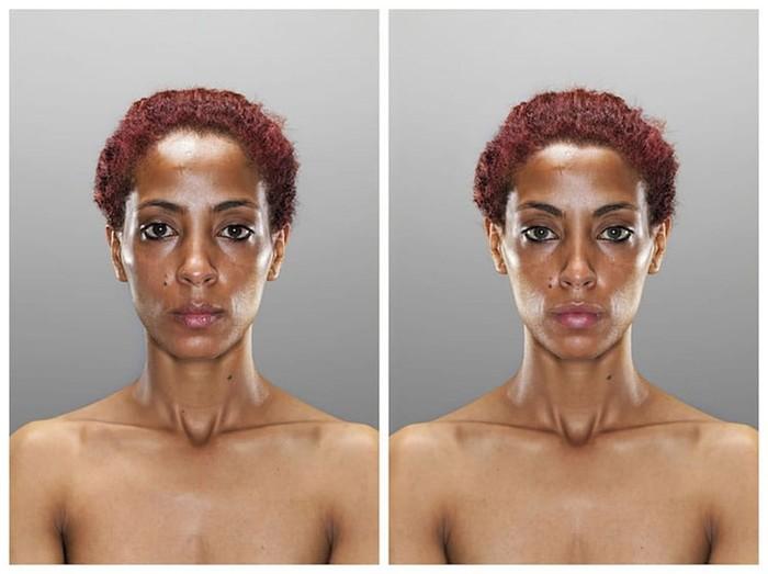 Исходный идеал: фотограф узнал, какими мы хотим видеть себя в зеркале