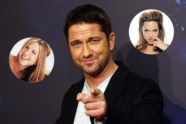 Джоли или Энистон: Джерард Батлер признался, кто лучше целуется из актрис