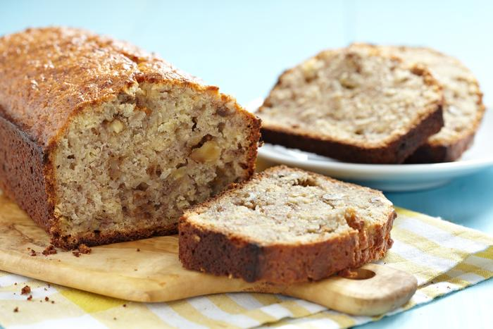 Кофейный хлеб с орехами и медом— низкокалорийный рецепт