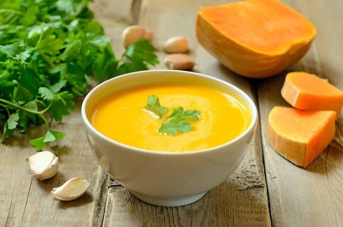 Как приготовить диетический тыквенный суп