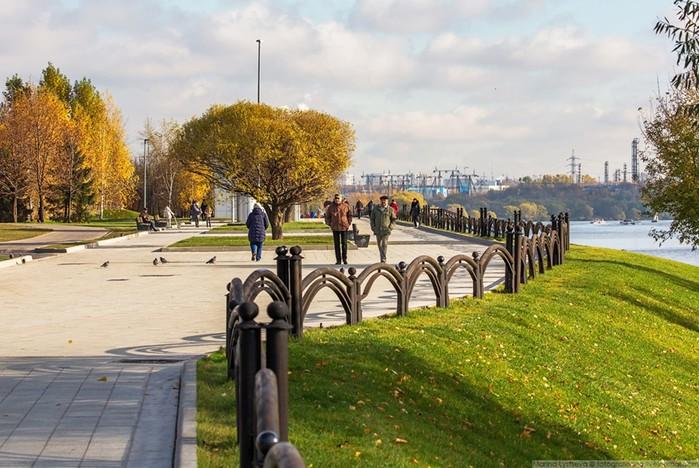 Прогулка по обновленному парку 850 летия Москвы