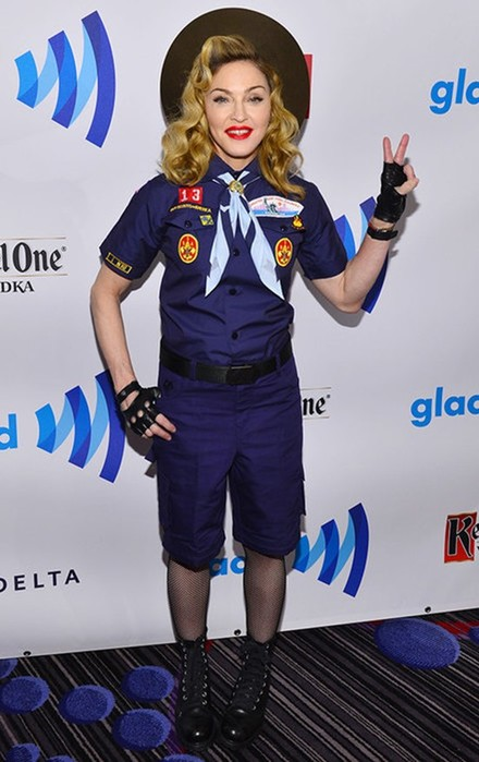 10 самых странных образов Мадонны