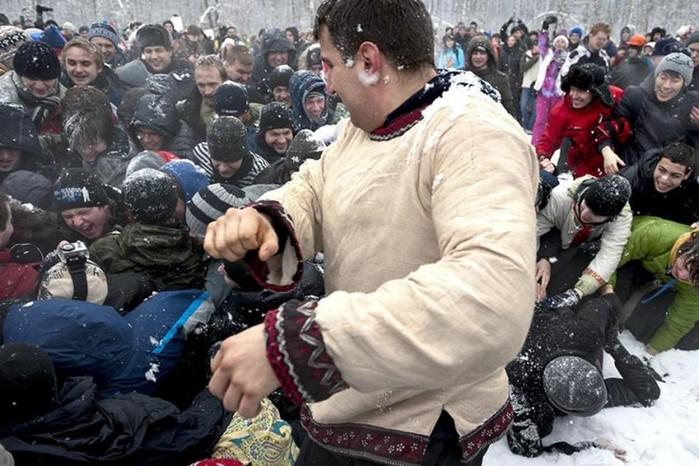 Бесовские игрища русской молодежи на Святки
