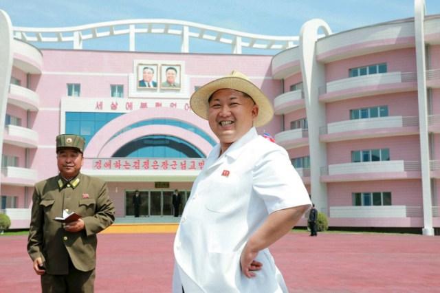 Необычная архитектура Северной Кореи в красивых фотографиях