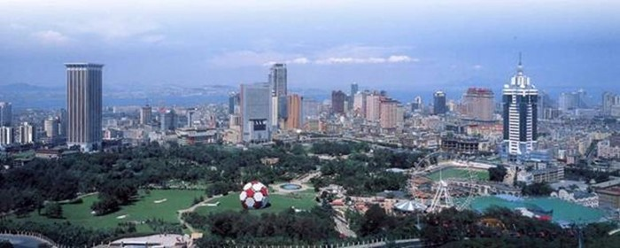 Далянь— город здорового отдыха в Китае