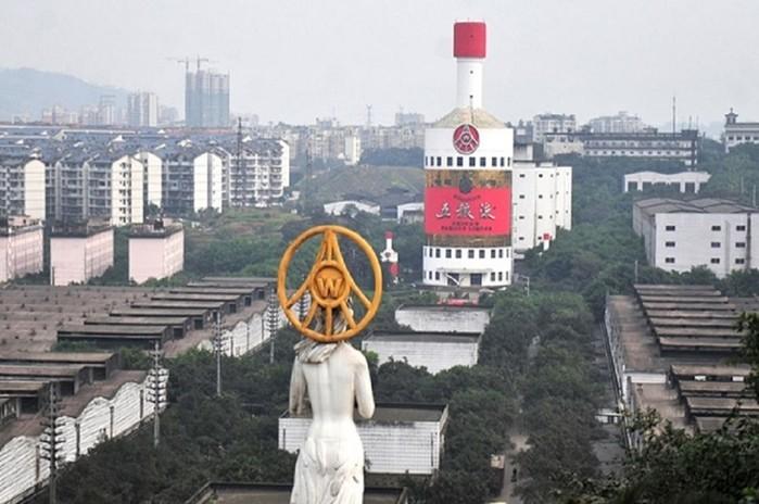 В Китае построено очень много необычных зданий...