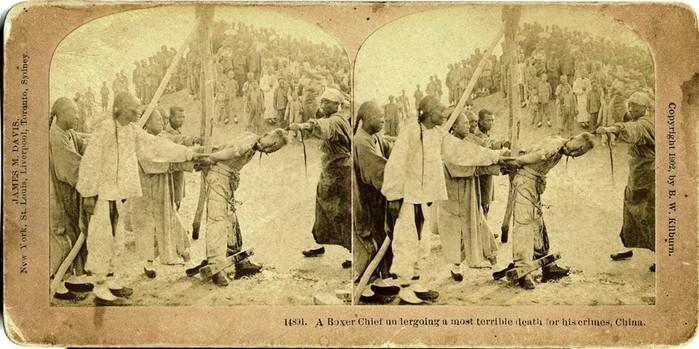 Боксерское восстание в ужасающих фотографиях того времени