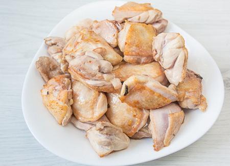 Как приготовить жареный рис с курицей и сладким перцем
