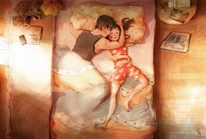 7 милых иллюстраций, которые демонстрируют, что любовь кроется в мелочах