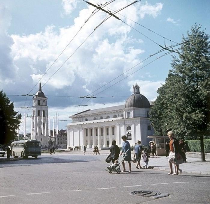 Фотографии: Вильнюс во времена СССР