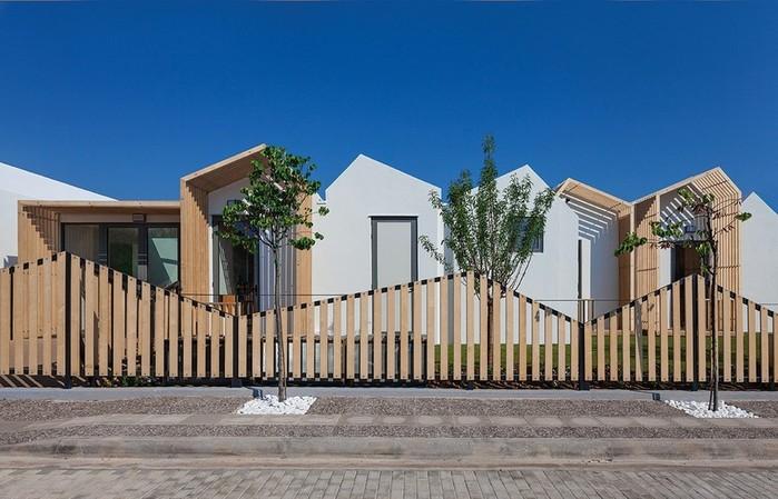 Общественный детский сад в Греции: архитектура и интерьер