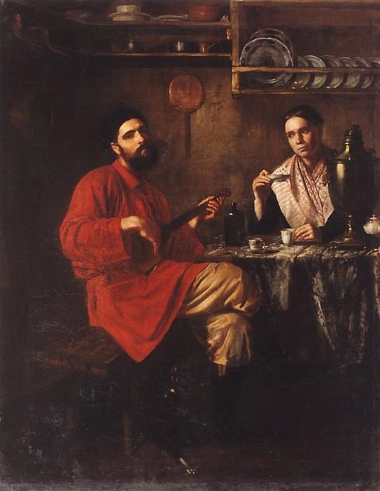 Николай Неврев (1830—1904)— русский исторический и жанровый живописец