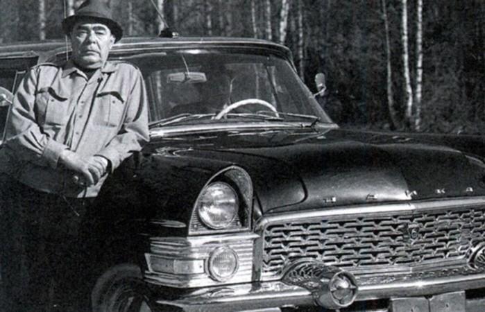 Какие автомобили были в коллекции Брежнева