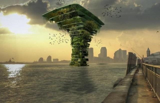 Переселение на воду в случае мирового потопа: 10 архитектурных проектов
