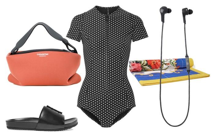 5 образов для активного отдыха: Как стать самой модной на горном склоне, катке или в бассейне