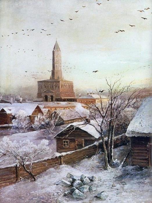 Почему самое страшное место Москвы   это Сухарева башня?