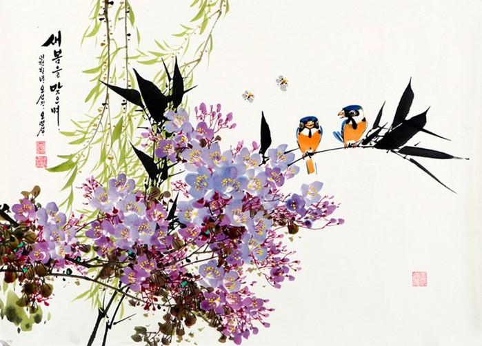 Корейская живопись: художник О Ён Сон (Oh Young Sung)