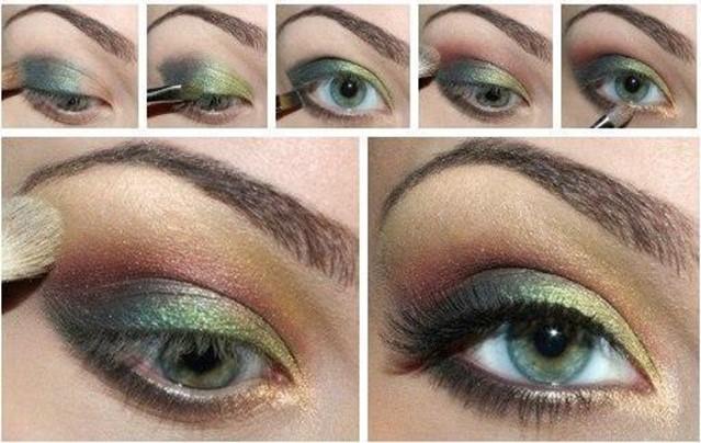 Советы по макияжу для зеленых глаз