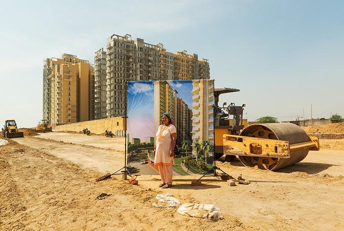 Индийские бедняки построили «Сколково» в грязи