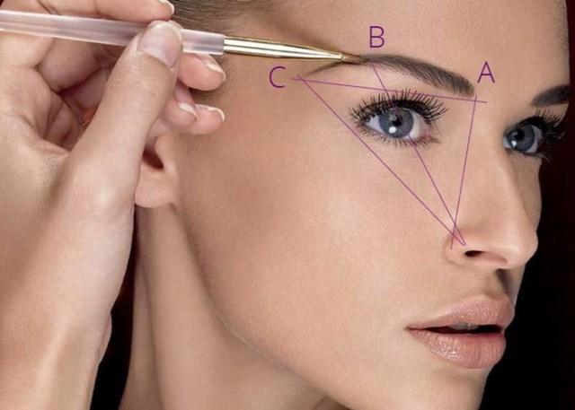 Форма бровей в макияже: основные правила