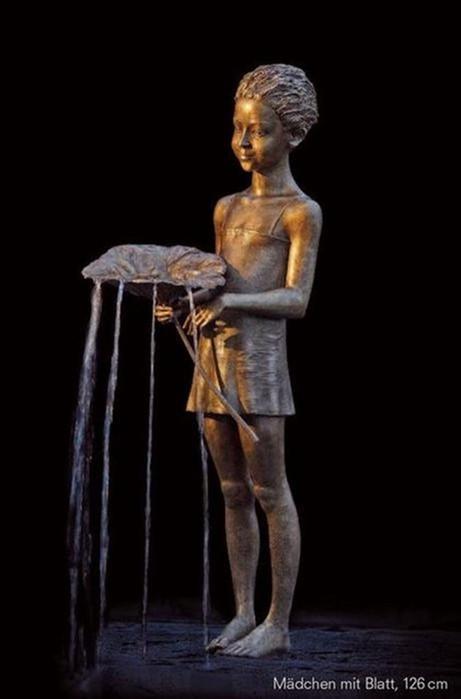 Невероятные фонтаны скульптора Малгожаты Ходаковской