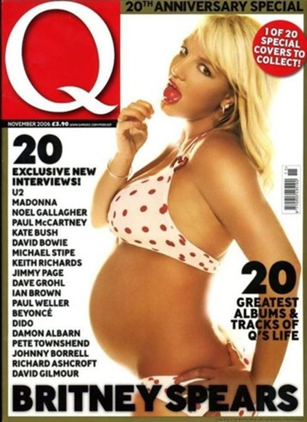 Беременные знаменитости, которые снялись обнаженными для журналов