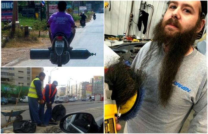 Упрямые люди, которые никогда не признают себя слабаками: 18 фотографий