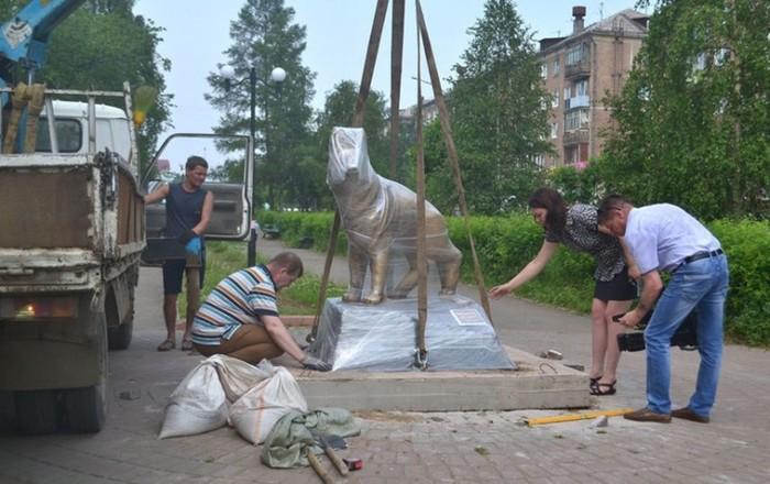 Памятник всем потерявшимся питомцам