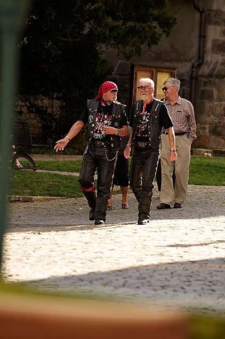 Два товарища: удивительные байкеры пенсионеры