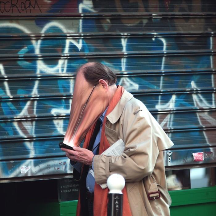 Смартфоны   похитители душ: фотограф Антуан Гейже представил жуткие снимки