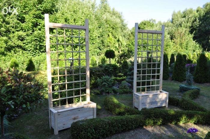 Что такое трельяж в саду?