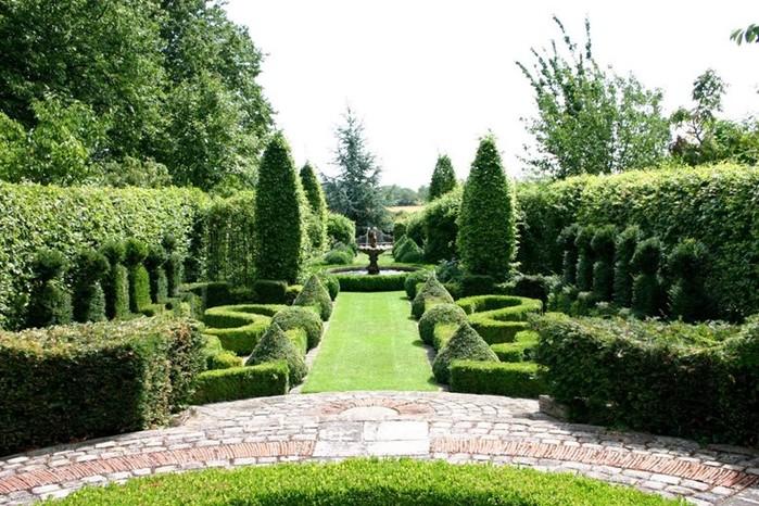 Принципы устройства французского сада