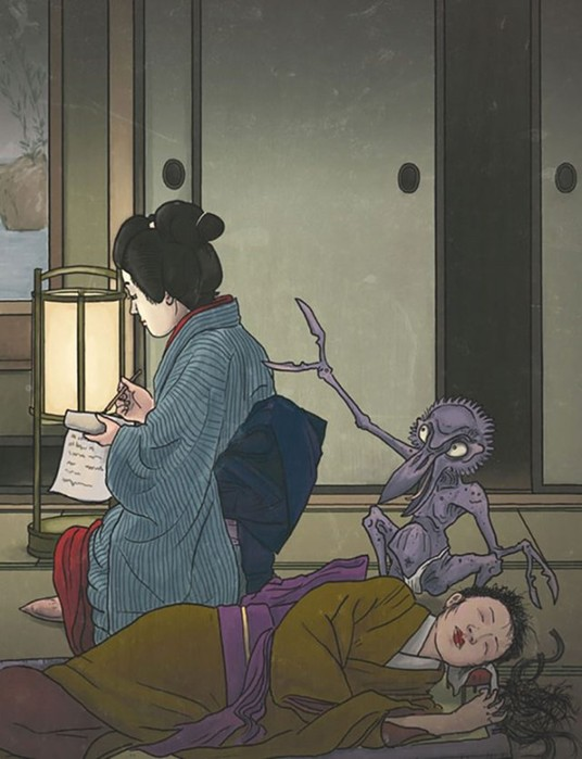 Самые странные существа из мифологии Японии