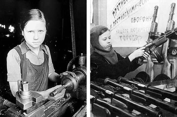 Как люди в тылу работали на победу в Великой Отечественной войне