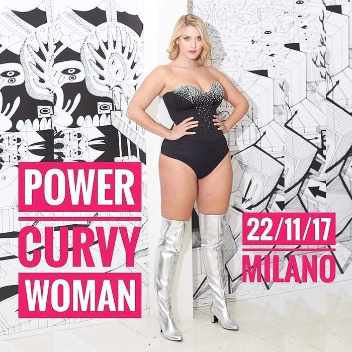 Пышка недели: Итальянка Лаура Бриоши имеет массу поклонников